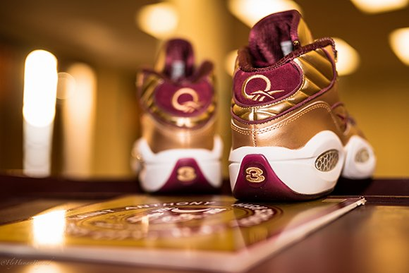 Packer Shoes x Reebok Question Saint Anthony High School