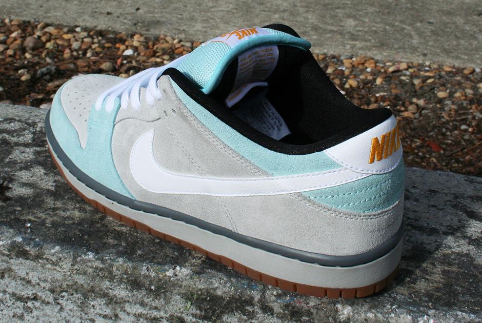 Plus Skate Shop x Nike SB Dunk Low Glacier Ice