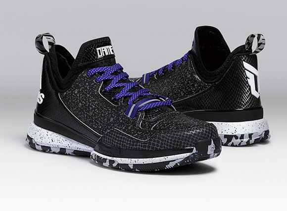 adidas D Lillard 1 Black Purple
