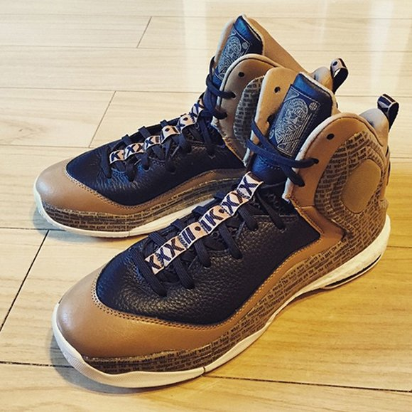 adidas d rose 5 boost gold