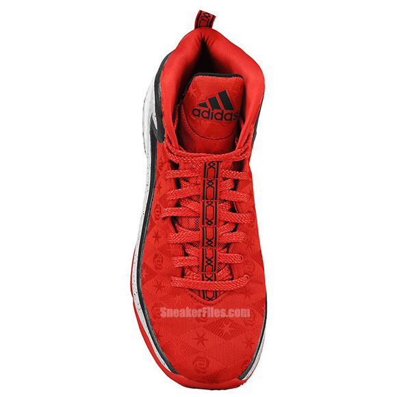 adidas D Rose 5 Boost Scarlet Black Bright Red