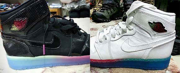Air Jordan 1 GS Multi Color Midsole