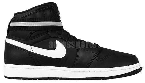 Air Jordan 1 High Strap Black White