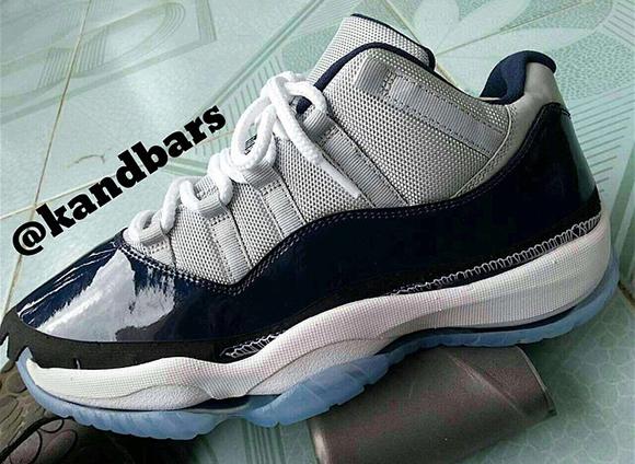 Air Jordan 11 Low Georgetown Hoyas