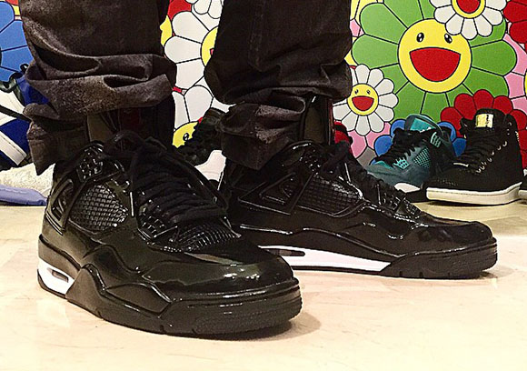 fc11f55637fc On Feet  Air Jordan 11Lab4 Black   White