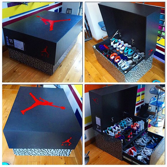 Air Jordan 3 Sneaker Storage Box