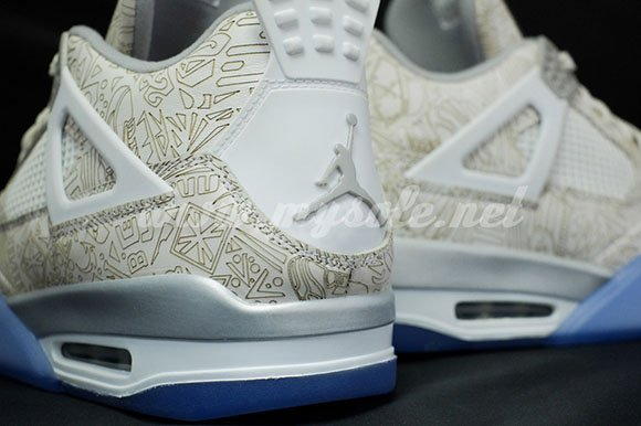Air Jordan 4 Retro Reflective Laser More Images