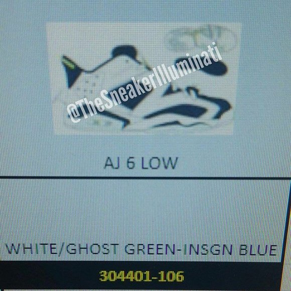Air Jordan 6 Low Ghost Green Release Date and Price