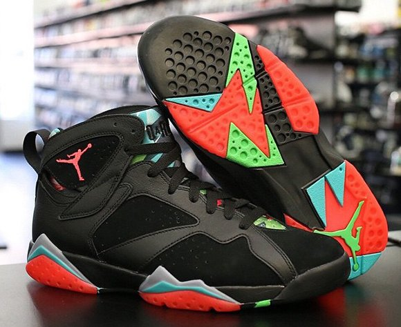 Air Jordan 7 Marvin the Martian release Adult Sizes