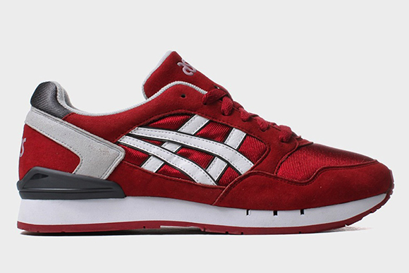 Asics Gel Atlantis Burgundy White 2015