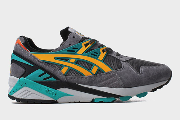 Asics Gel Kayano Grey Gold Fusion