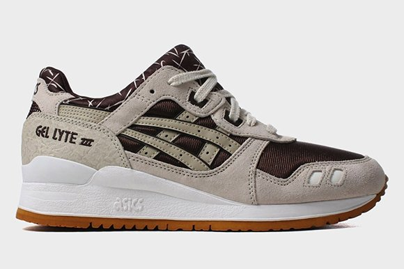 Asics Gel Lyte III Dark Brown Sand