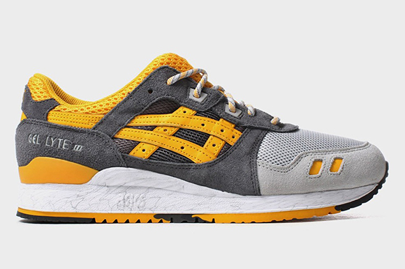 Asics Gel Lyte III Grey Gold Fusion