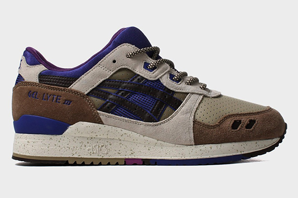 Asics Gel Lyte III Brown Ink Blue