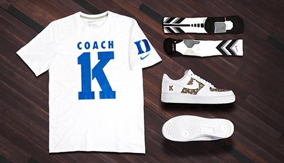 Celebrate Coach K 1,000th Win Nike Basketball