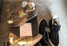 Converse Aero Jam Liquid Gold
