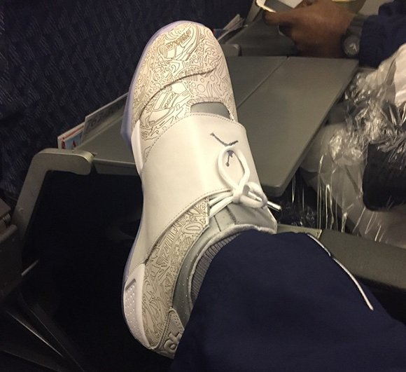 5db6587b363 Dez Bryant Shows Air Jordan 20 Retro 'Laser' | SneakerFiles