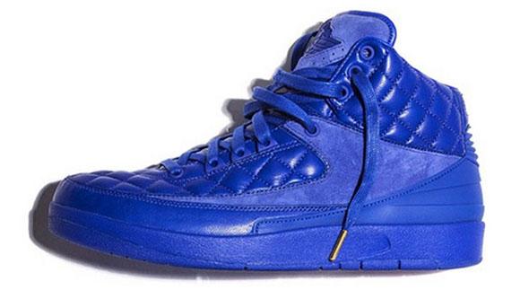 air jordan 2 quilted blue price