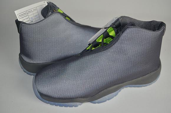 Jordan Future Sample Dark Grey / Volt | SneakerFiles