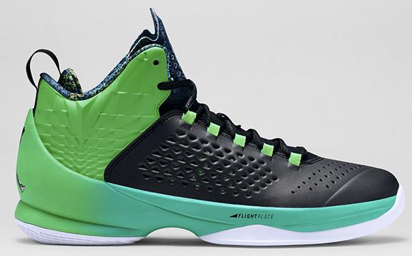 Jordan Melo M11 Black Green Spark
