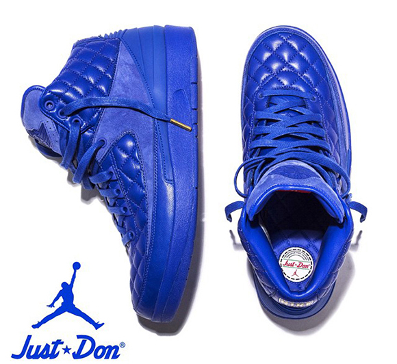 Just Don x Air Jordan 2 Will Cost You $275