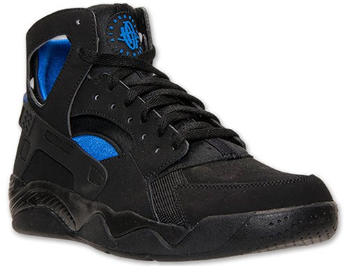 d1b5cfbec8620 Nike Air Flight Huarache Black   Lyon Blue