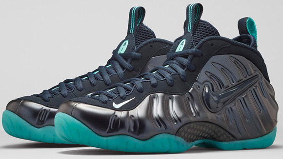 4e2218f5b7d99 Nike Air Foamposite Pro Dark Obsidian Official Images new ...