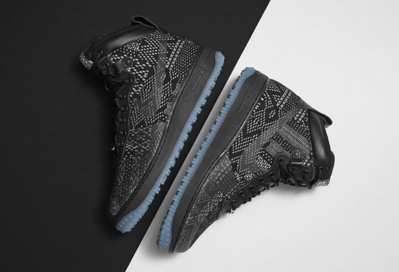 Nike Air Force 1 Duckboot BHM Black History Month 2015