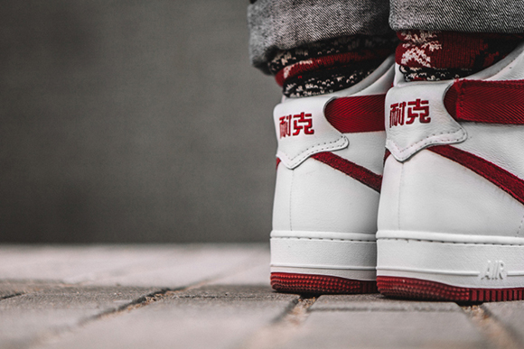 on feet nike air force 1 high naike sneakerfiles