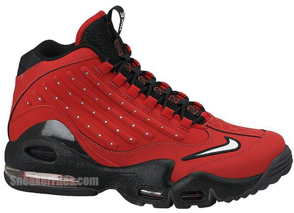Nike Air Griffey Max 2 University Red White Black