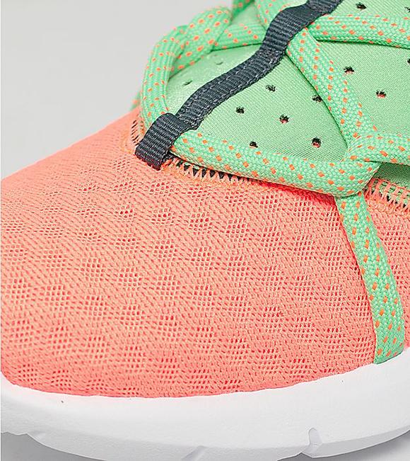 Nike Air Huarache NM Total Orange Poison Green