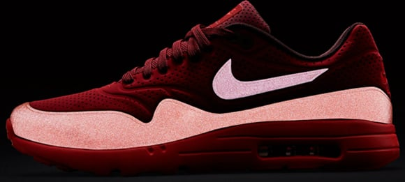 pretty nice aab4f 346a1 hot sale 2017 Nike Air Max 1 Ultra Moire Gym Red Reflective