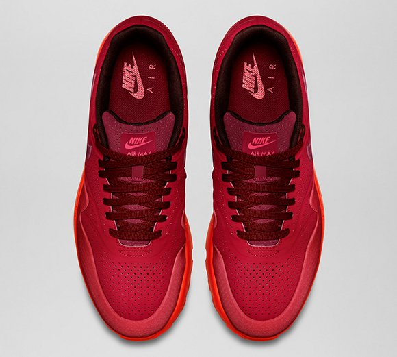Nike Air Max 1 Ultra Moire Gym Red Reflective