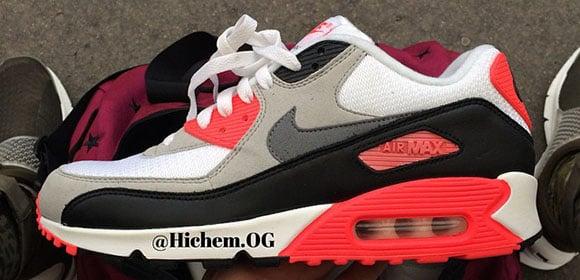 Nike Air Max 90 Infrared 2015 Sample