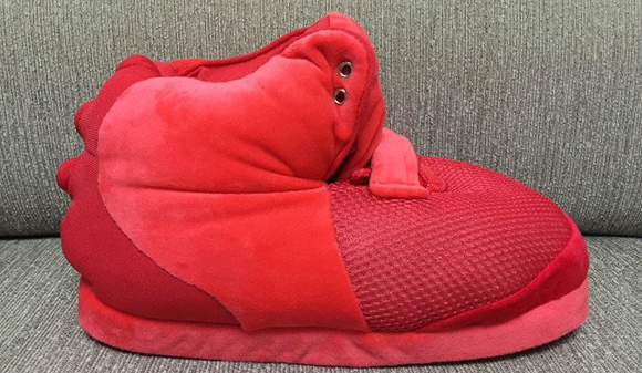 Nike Air Yeezy 2 Red October Slippers