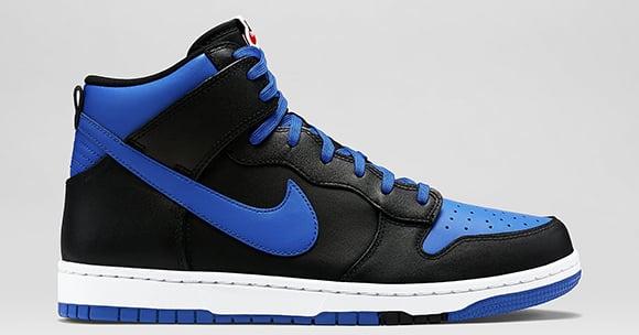 Nike Dunk High CMFT Lyon Blue Black