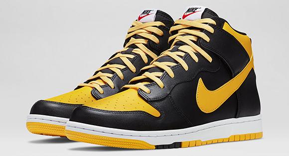 Nike Dunk High CMFT University Gold Black
