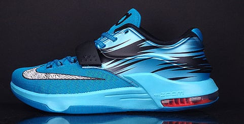 Nike KD 7 Light Lacquer Blue Available