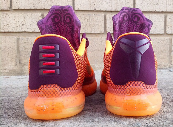 Nike Kobe 10 Merlot Silk Road