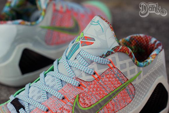 Nike Kobe 9 WTK Low Custom by Dank