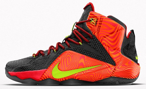 Nike LeBron 12 Court Vision Option Coming to NikeID