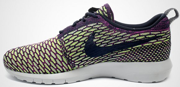Nike Roshe Run Flyknit Mens and Womens Multi-Color