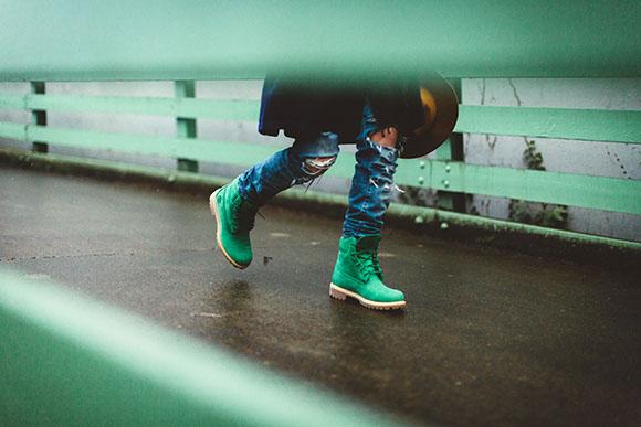 Villa x Timberland 6-Inch Boot Emerald
