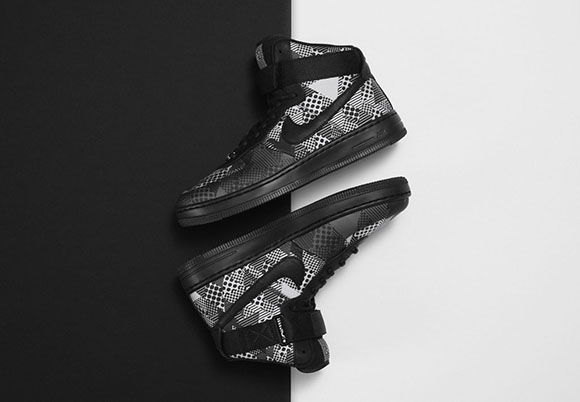 Womens Nike Air Force 1 Downtown BHM Black History Month 2015
