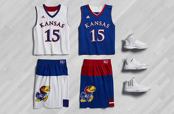 adidas Basketball March Madness 2015 Kansas