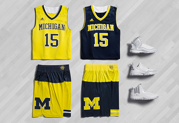 adidas Basketball March Madness 2015 Michigan