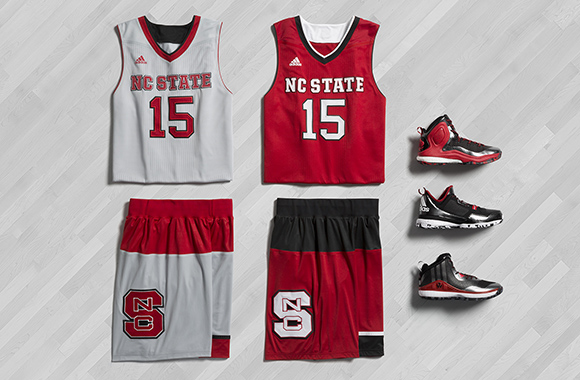 adidas Basketball March Madness 2015 NC State