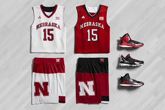 adidas Basketball March Madness 2015 Nebraska