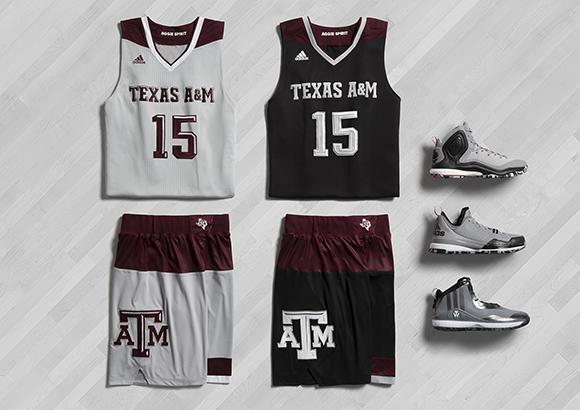 adidas Basketball March Madness 2015 Texas AM