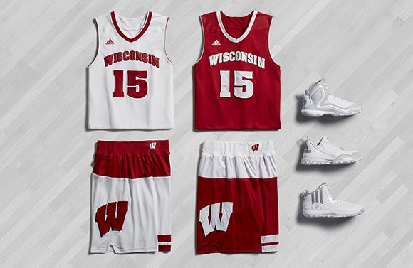 adidas Basketball March Madness 2015 Wisconsin